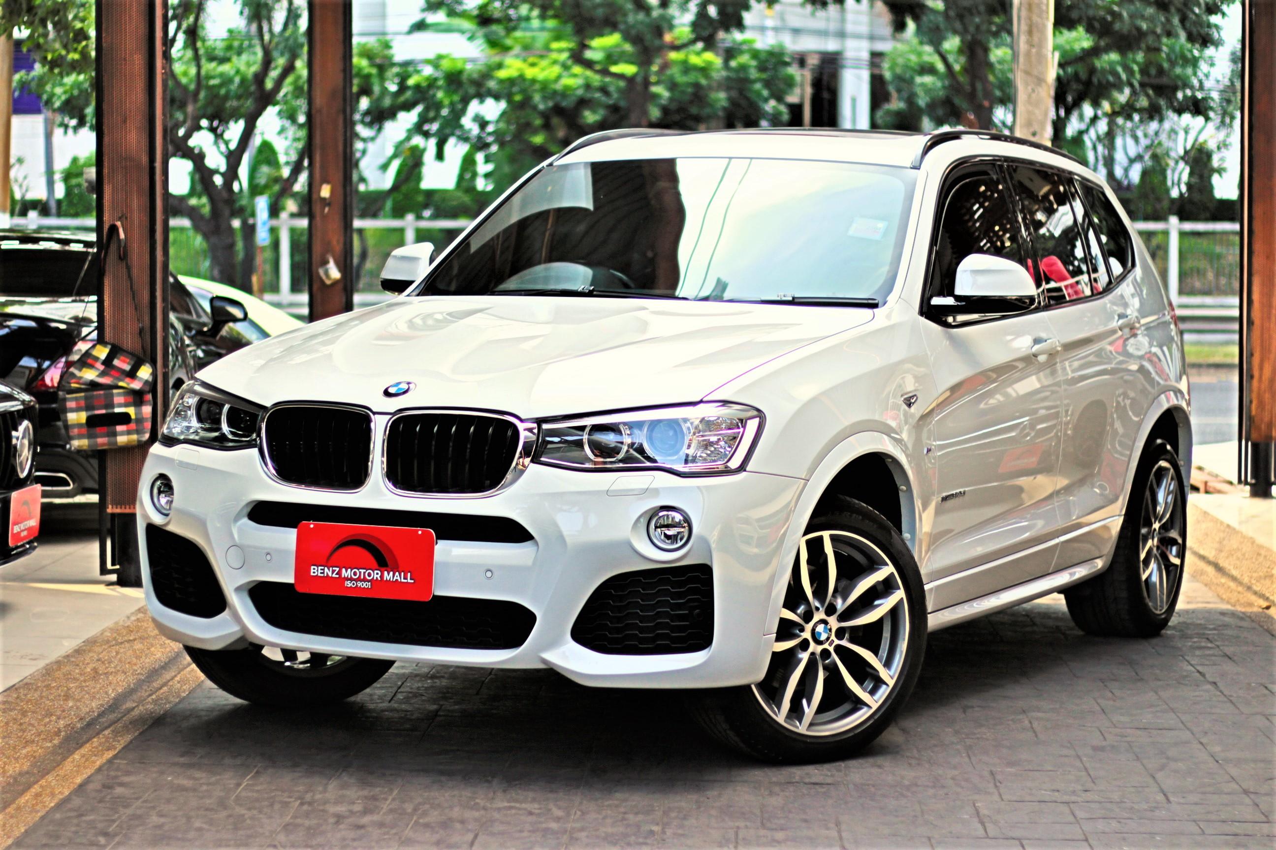 BMW X3xDrive20d M-Sport ปี 17 รหัส #6144