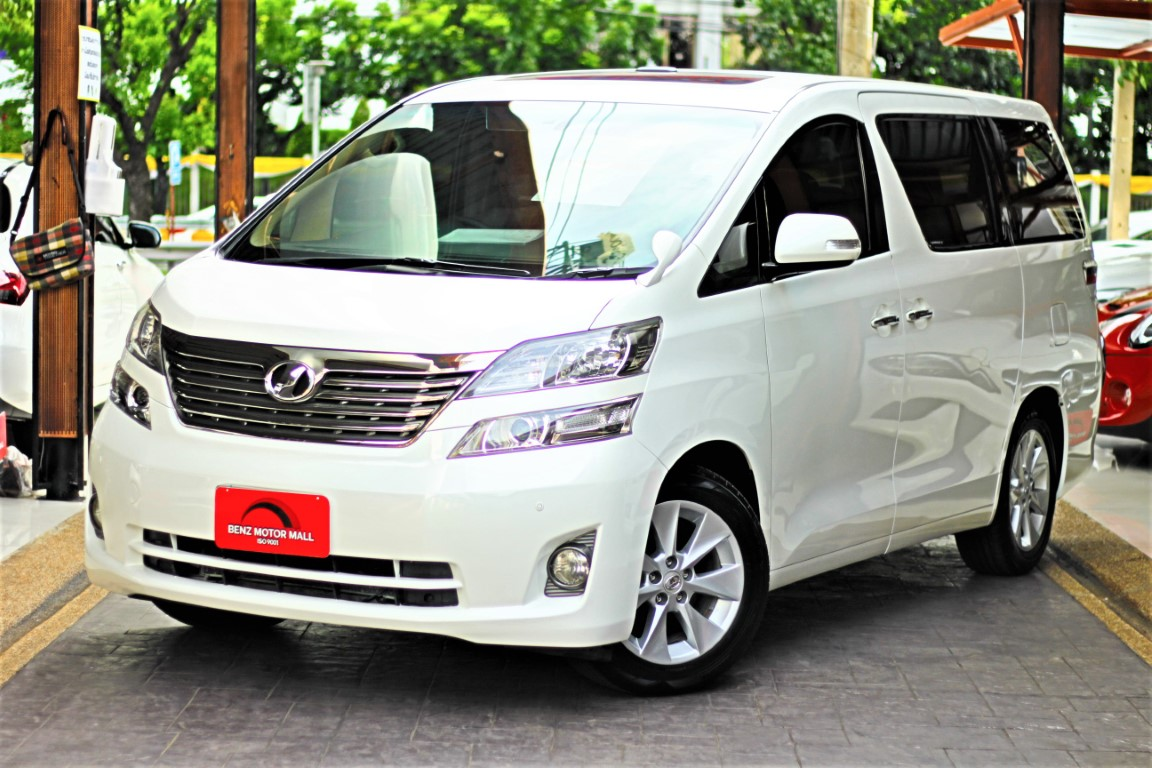 Read more about the article TOYOTA VELLFIRE2.4V ปี 10 รหัส #8603